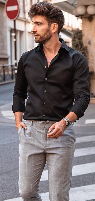 Dress Shirt And Trousers To Wear At Funeral