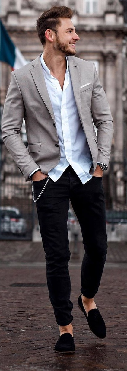10 Amazing Casual Blazer Outfits for Men