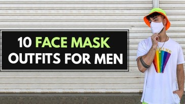 Face Mask Outfits for Men