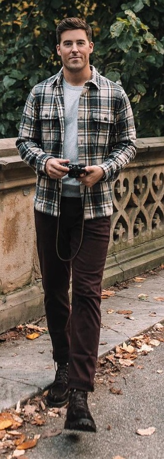 15 Cool Shacket Outfit Ideas for Men