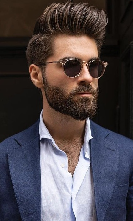 Best Beard and Hairstyles Combo 2021