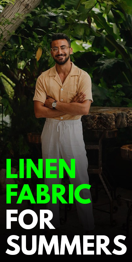 Linen Fabric For Summers-
