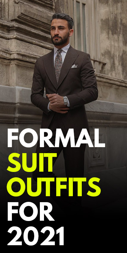 Formal Suit Outfits For Men