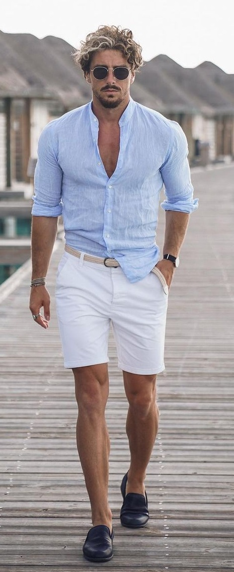 How To Style A Linen Shirt This Summer