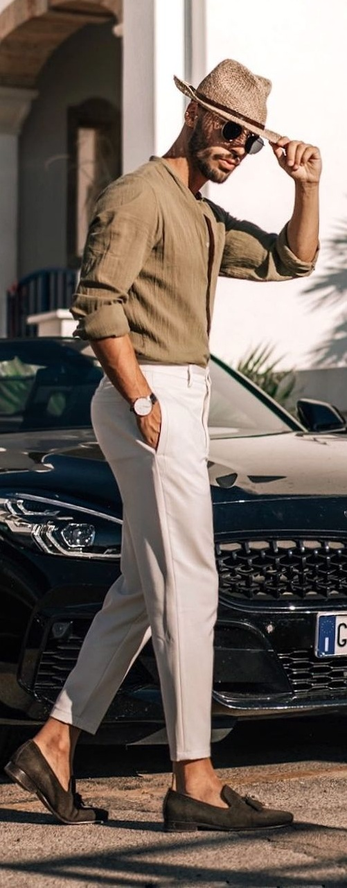 Stylish Linen Outfit Ideas for Men