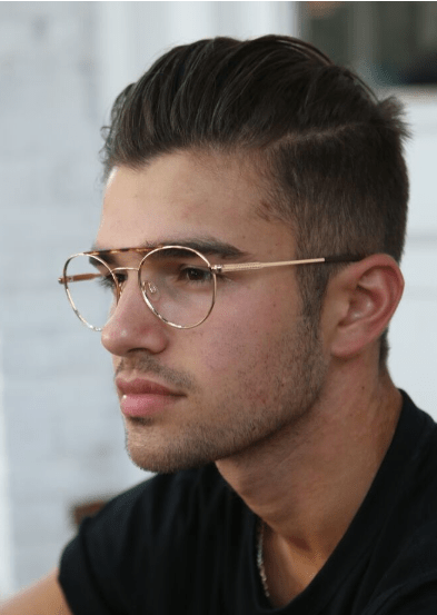 Cool Round Metal Frames for Men