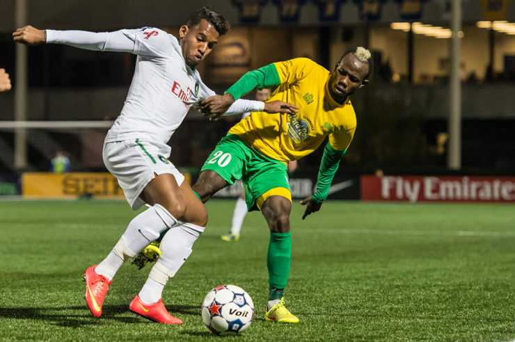 Evans Frimpong Gets a Brace in Rowdies 2-2 Draw
