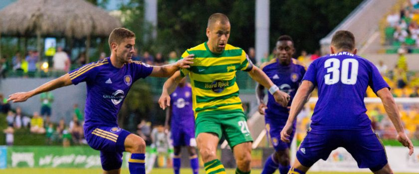 Rowdies' Busy Week Starts with Trip to Louisville City