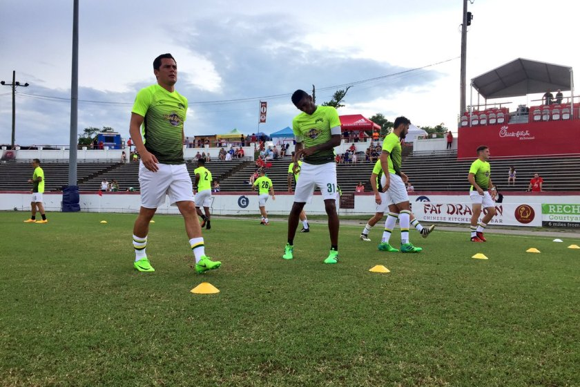 Rowdies' Winless Drought Continues in Richmond