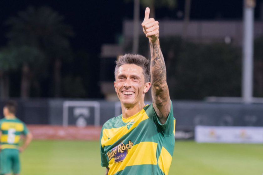 Hristov Writes More Rowdies History in 3-1 Win Over Toronto