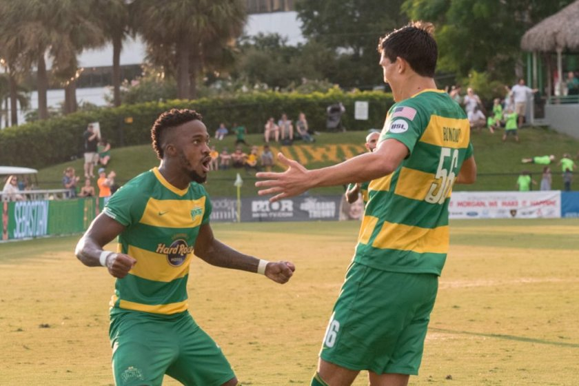 Shorthanded Rowdies Draw Red Bulls II 2-2