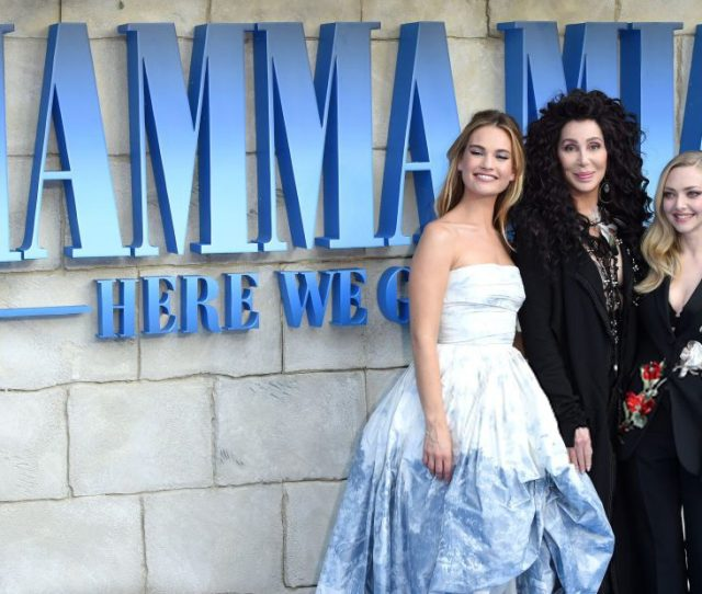 Mamma Mia Here We Go Again Interviews And Highlights From The Premiere Of The Singalong Sequel