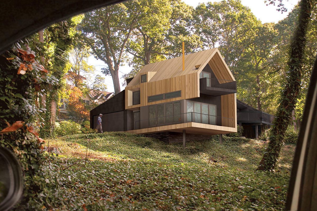 THE UP STUDIO UPhill House
