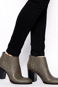ASOS grey boots