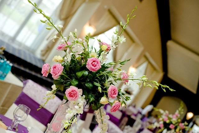 flower arrangements our wedding