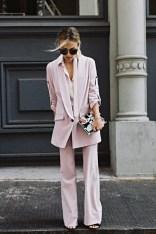 pink monochromatic look