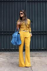 monochromatic look yellow