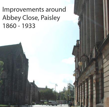 Improvements around Abbey Close, Paisley