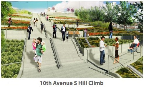10th Ave S Hill Climb