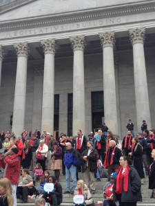 Advocacy in Olympia 2014