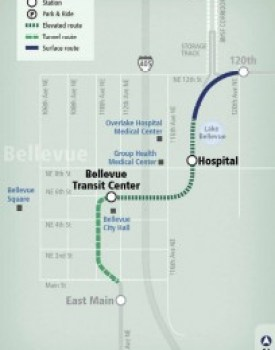 Downtown Bellevue Segment