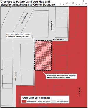Interbay Land Use Map Changes