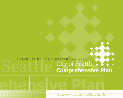 City of Seattle Comprehensive Plan