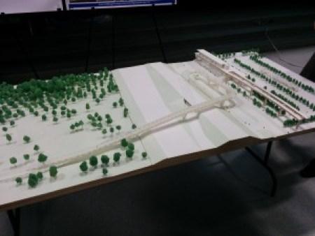 Northgate Pedestrian and Bicycle Bridge Option 1.