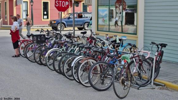 Skagway bikes