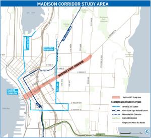 Madison Corridor Study Area