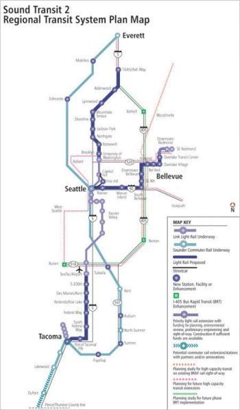 Sound Transit 2 Map