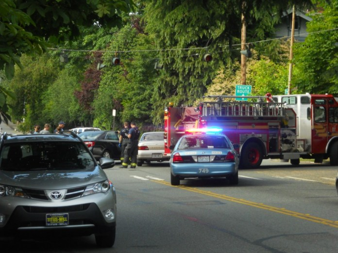 A serious accident in Seattle.