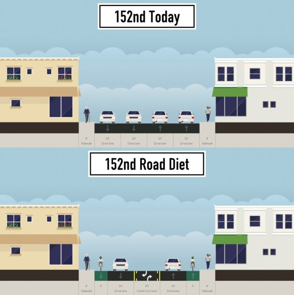 152nd-road-diet