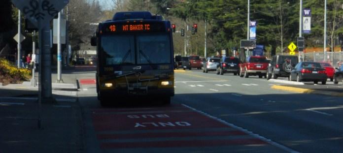 Bus Only Lane