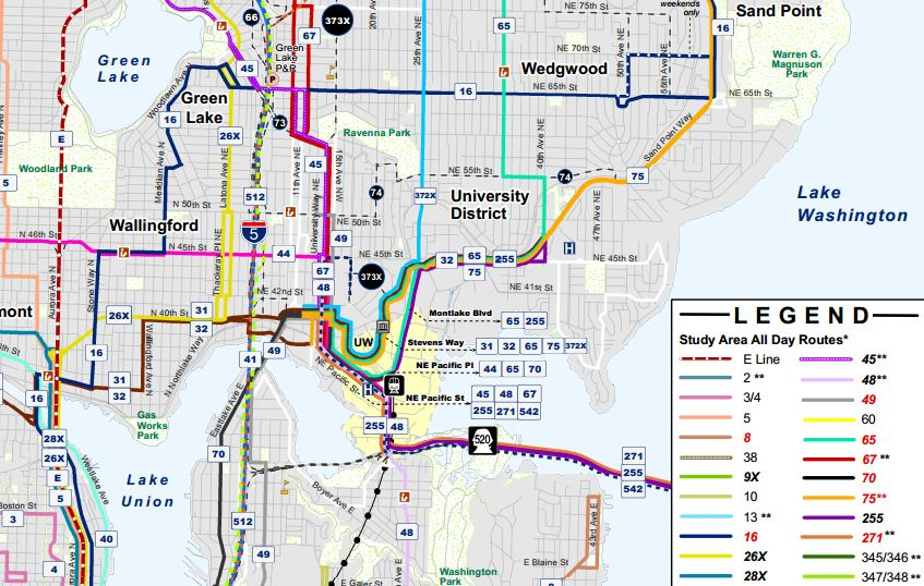 Update on Proposed U Link Bus Route Restructures | The Urbanist