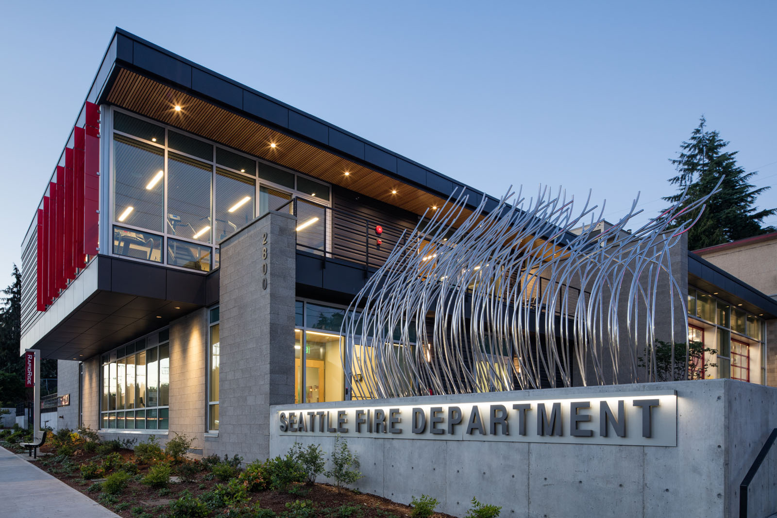 Inside the most sustainable fire station in the usa fire station 20