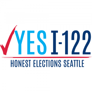Yes I-122 Honest Elections Seattle campaign logo