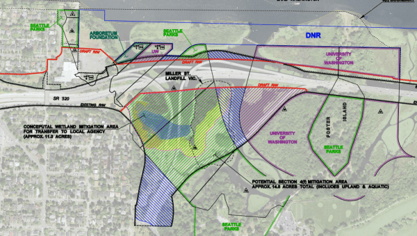 WSDOT Peninsula to be conveyed. (WSDOT)