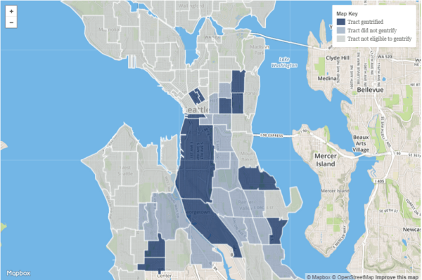 Seattle Gentrification Maps and Data2
