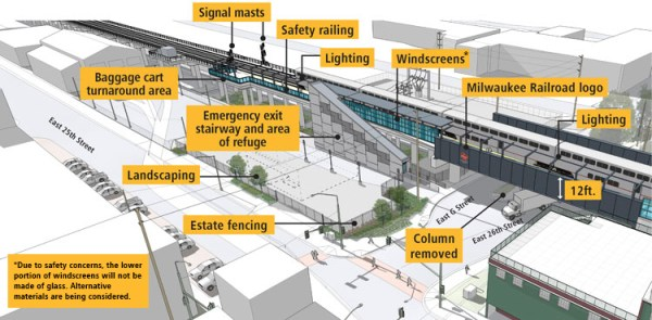 Overview of improvements. (Sound Transit)