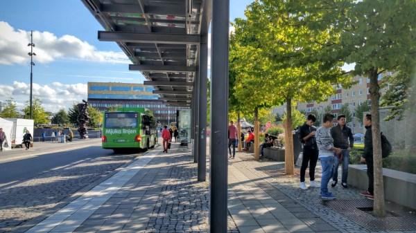 Bus station. (Tony Mazzella)