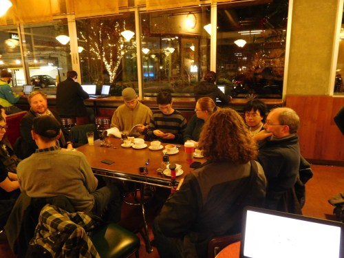 A weekly meetup in South Lake Union. (Photo by the author)