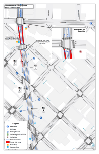 Segment B: Lenora to Denny. Click to enlarge. (City of Seattle)