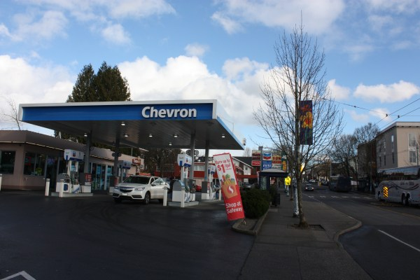Gas stations are low density uses and opportunities for development.