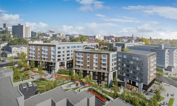 Vulcan could have built about 15 more stories than it did here. Given Seattle's housing shortage, this seems short-sighted. Ambitious architecture is built to last a century. This Vulcan project might not live that long, but it'll prosper for its investors. (Studio216)