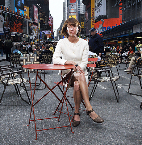 Sadik-Khan even broke the barrier of transportation technocrats getting Esquire features. She's that good.