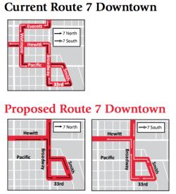 Everett Route 7 revision.