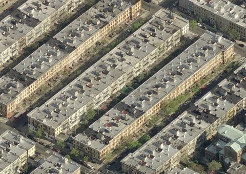 Bushwick, Brooklyn block (Credit: Charlie Gardner)