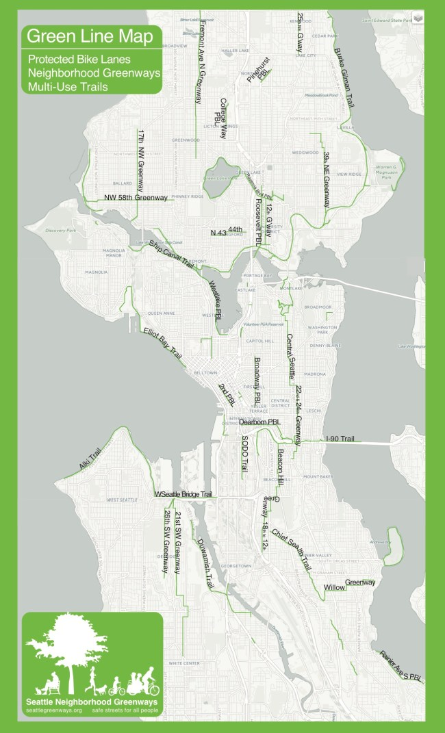Green Lines map by Tim Fliss.