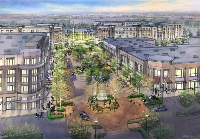 Totem Lake redevelopment plan calls for 800,000 sq feet and 850 luxury apartments.